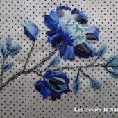Tuto fleur bleue ! - les trésors de nath
