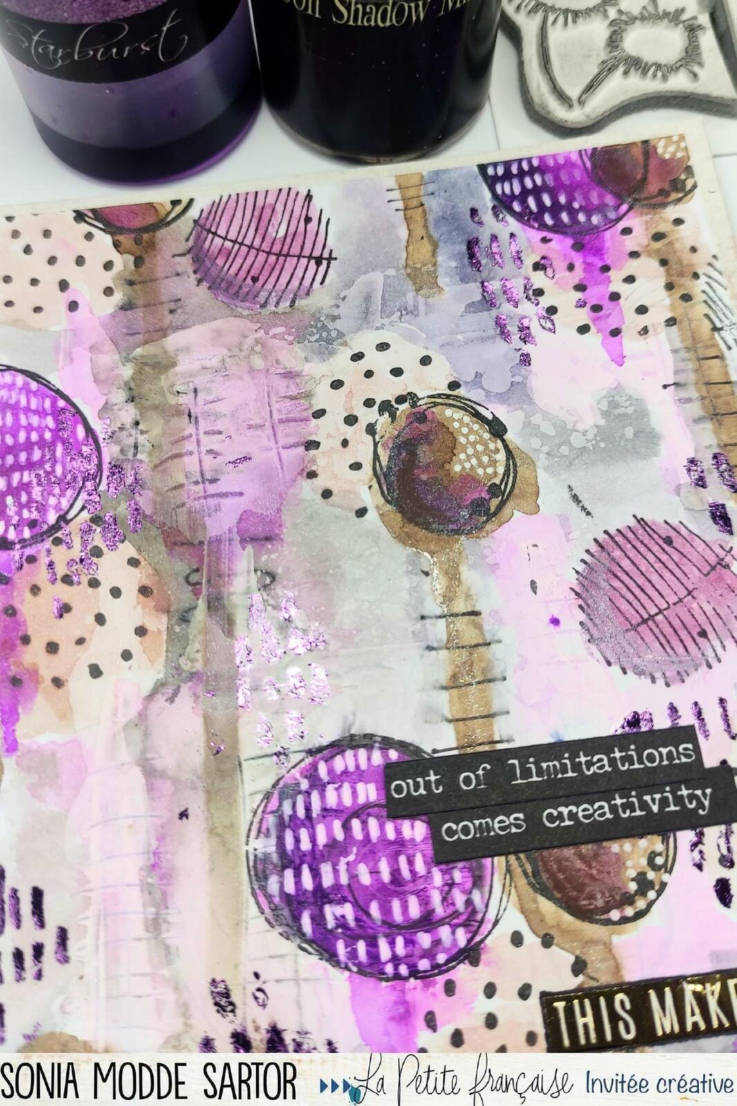 """Carte """"creativity"""" La Petite Française"""