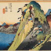 Hiroshige - Vue du lac (Kosui zu) - LANKAART