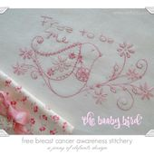 Jenny of ELEFANTZ: The Booby Bird - free pattern for breast cancer awareness...