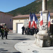 St Andre les Alpes , commémoration du 11 novembre