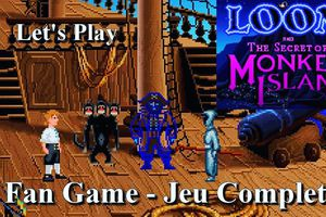 """PC - Découvrons le Fan Game """"Loom And The Secret Of Monkey Island"""" - Jeu Complet"""