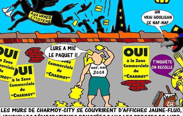 CHARMOY : ENCORE UN DÉPÔT ! - du 15 FÉVRIER 2015 (J+2251 après le vote négatif fondateur)