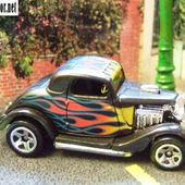 FORD 3 WINDOW 1934 HOT WHEELS 1/64 - car-collector.net