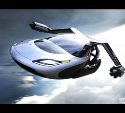 El coche volador, que nos hace ver el futuro del transporte