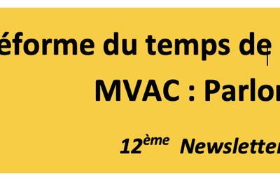 Réforme du temps de travail dans les MVAC : parlons-en !