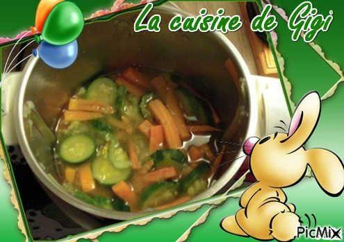 Velouté de courgettes et carottes TM31