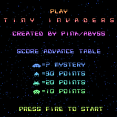 Tiny Invaders by Abyss
