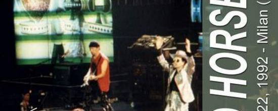 U2 -ZOO TV Tour -22/05/1992 -Milan -Italie - Forum Di Assago