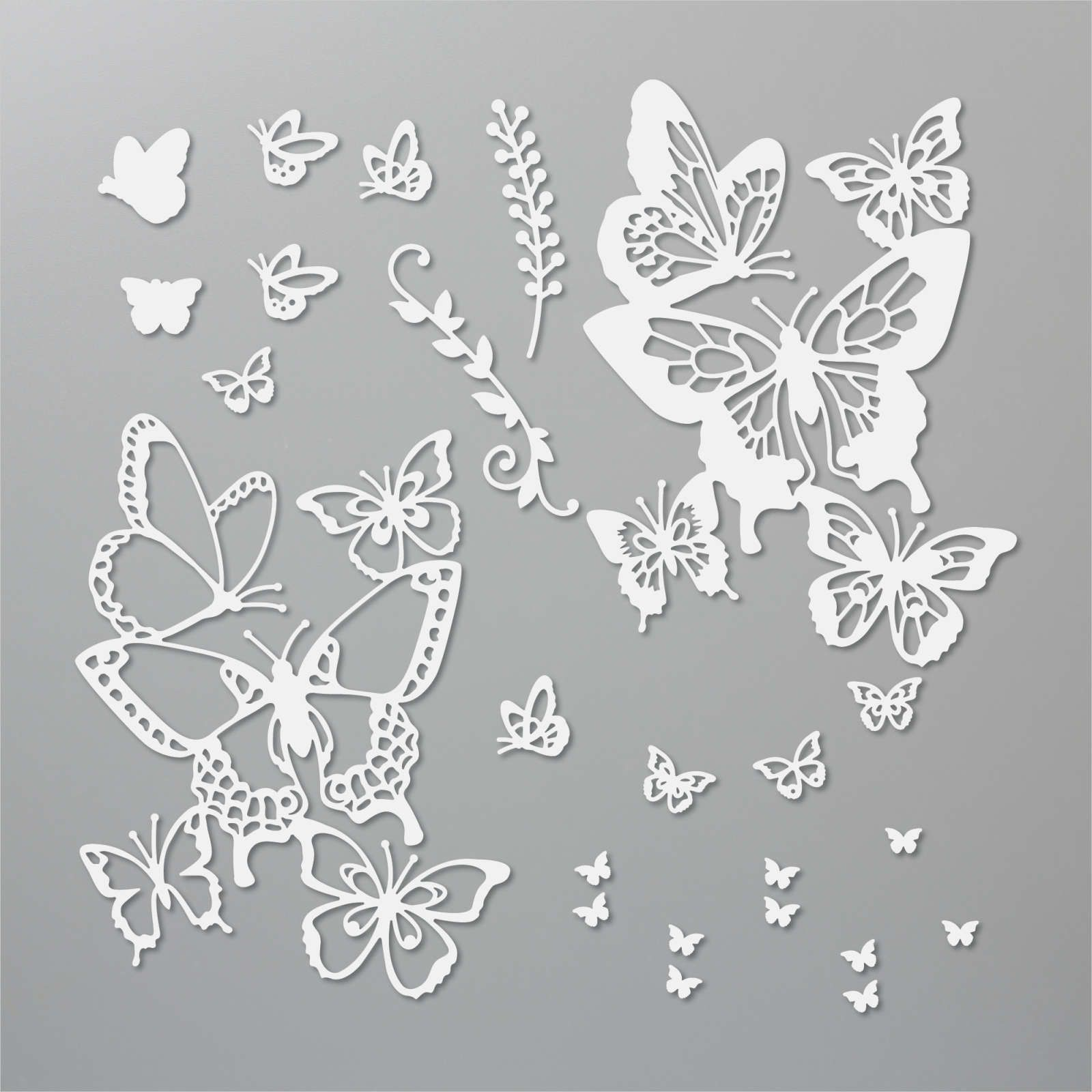 151819 Poinçons Beaux papillons stampinup