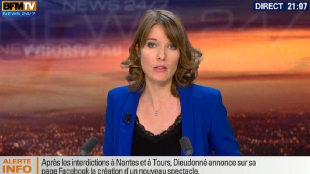 21H00 - LUCIE NUTTIN - BFM TV - WEEK-END 360