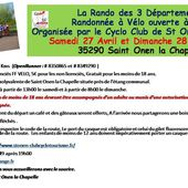 CYCLO CLUB ST ONEN