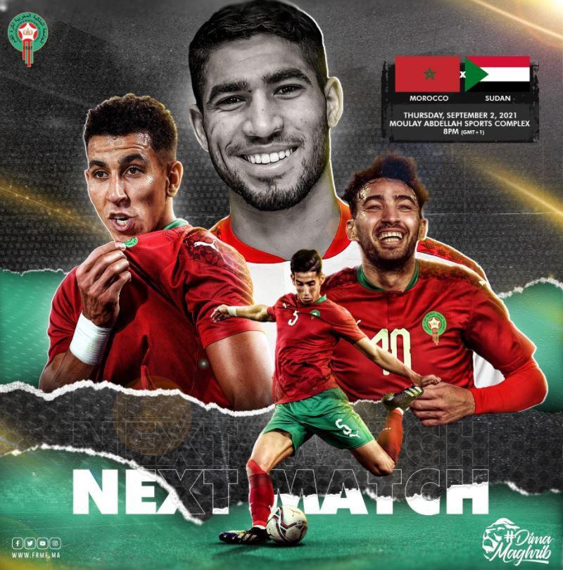 Maroc / Soudan (Coupe du Monde 2022) Comment suivre la rencontre ce jeudi ?