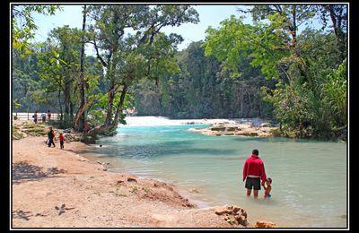 Mexique : les cascades de Agua Azul