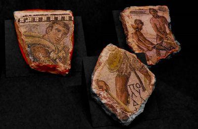 Les mosaiques romaines en exposition