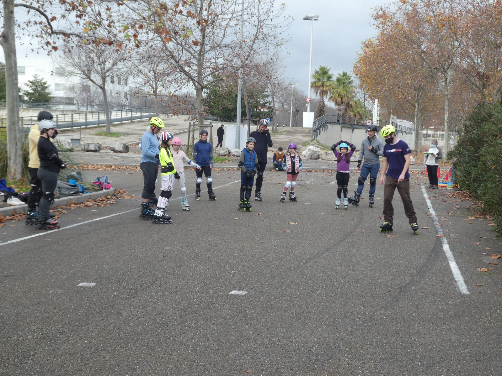 cours, roller, nimes, stage, vacances scolaires, sport, plein air