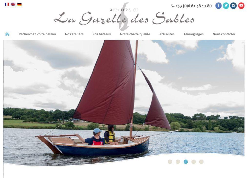 Les Ateliers de la Gazelle des Sables s'offrent un nouveau site internet