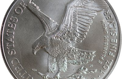 1 dollar Silver Eagle Liberty type 2 2021 United States of America