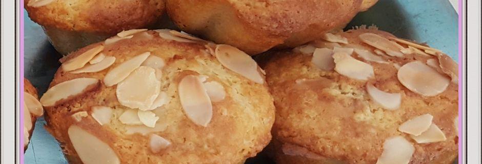 Muffins amandes / cerises