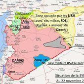 """La Syrie se dit prête à """"contrecarrer l'agression turque par tous les moyens légitimes """" plus une observation de Jean LEVY - Ça n'empêche pas Nicolas"""
