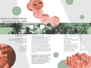 """seconde d'exploration """"création & culture design"""", première et terminale STD2A au lycée Jean Lurçat de Perpignan"""