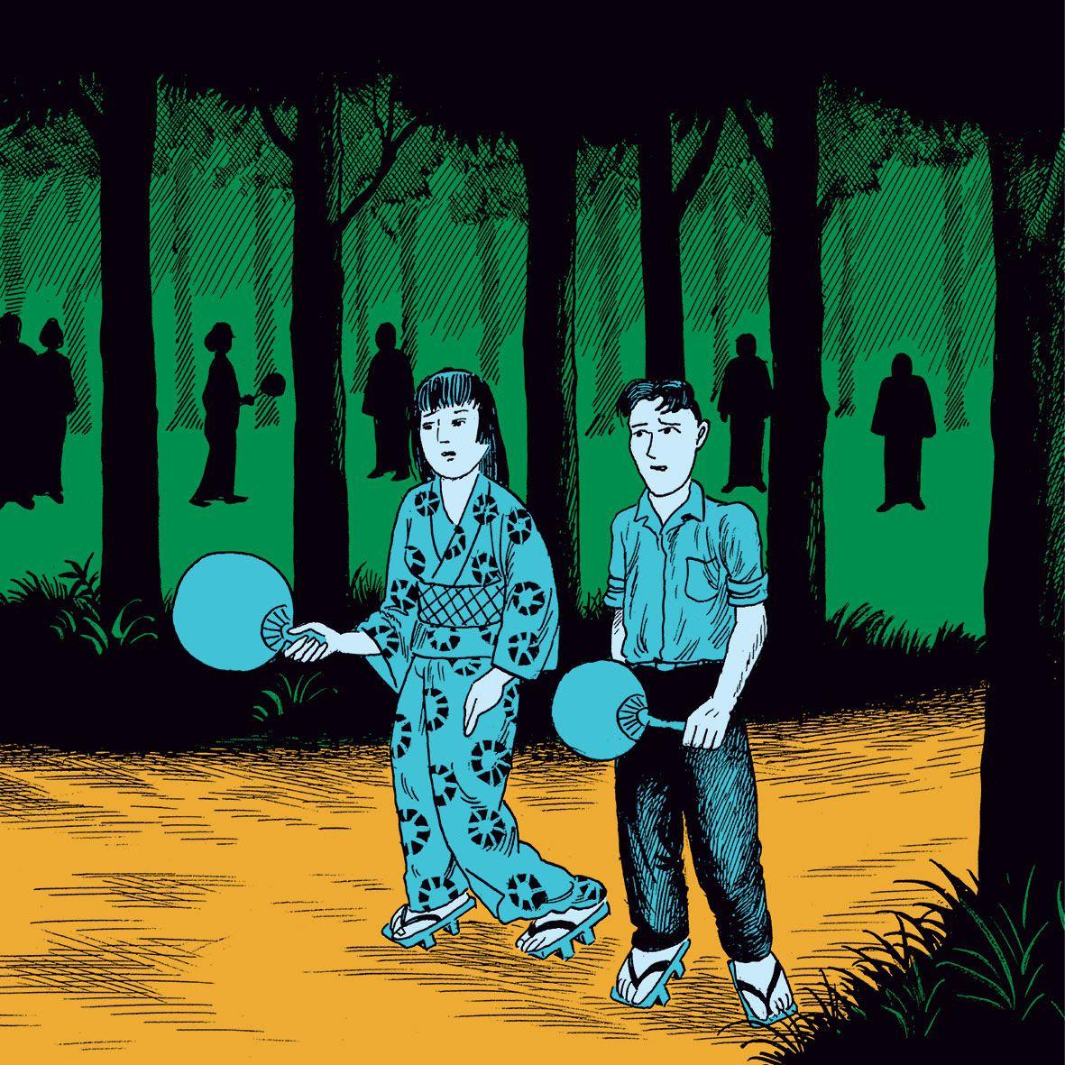 """""""Saisi par la nuit"""" de Yoshiharu Tsuge bientôt en librairie"""