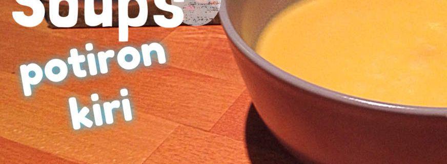 Soupe potiron kiri
