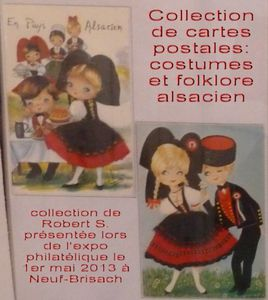 Exposition: cartes postales folklores
