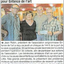 ARCHIVES DE PRESSE - Mise à jour. Article du LOCAL PRESSE -  16 janvier 2015.