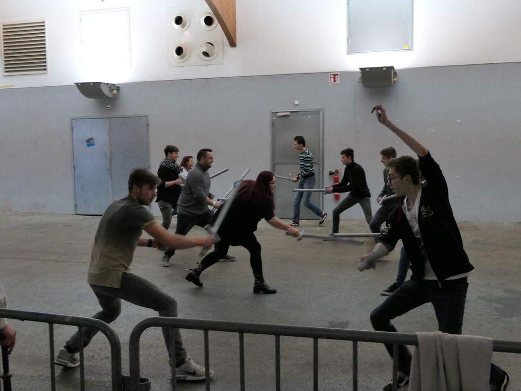 Place au sport de balle et d'épée avec l'AJEB et à la K-Pop