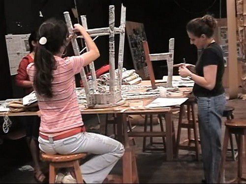 Photos from some of the 60 workshops I organise since I leaft Peter Brook in 2000. Each one of one week long was open for students or young professional set designers, architects, light disigners and directors.