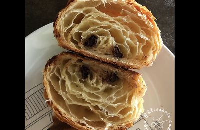 Recette viennoiseries N°2 - Feuilletage topissime - TOURAGE en tuto photos