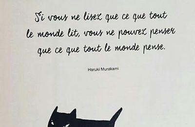 La pensée du jour d'Haruki Murakami