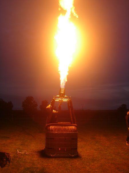Album - Les flammes de la montgolfière