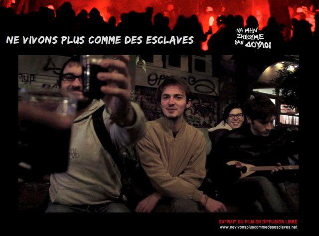 """C3V Maison citoyenne fait sa rentrée! Une nouvelle soirée projection/débat - Le 26 septembre - 19h30 - avec le film """" NE VIVONS PLUS COMME DES ESCLAVES """" en présence du réalisateur Yannis YOULOUNTAS"""