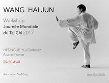 Wang Haijun Tai Chi Séminaire, Alsace 2017
