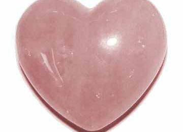 Un quartz rose pour un charme d'amour