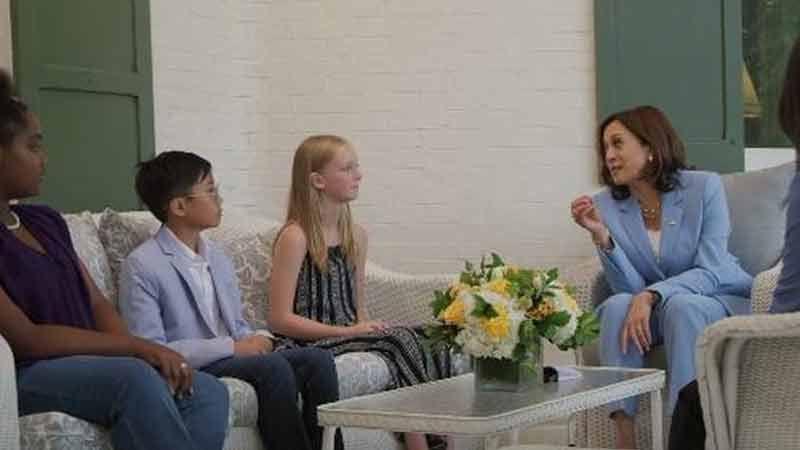 Fake : Kamala Harris a recouru à des enfants acteurs qui ont dû passer une audition pour une étrange promotion de la NASA
