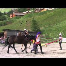 Val d'Allos : 12 ème Fête du cheval 2013, le reportage