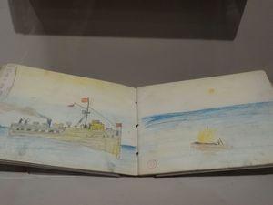 Carnet de dessin 1892 - La poule et ses oeufs 1898 - Huile sur toile