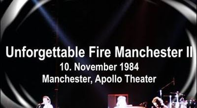 U2 -Unforgettable Fire Tour -10/11/1984 Manchester Angleterre- Apollo Theater #2