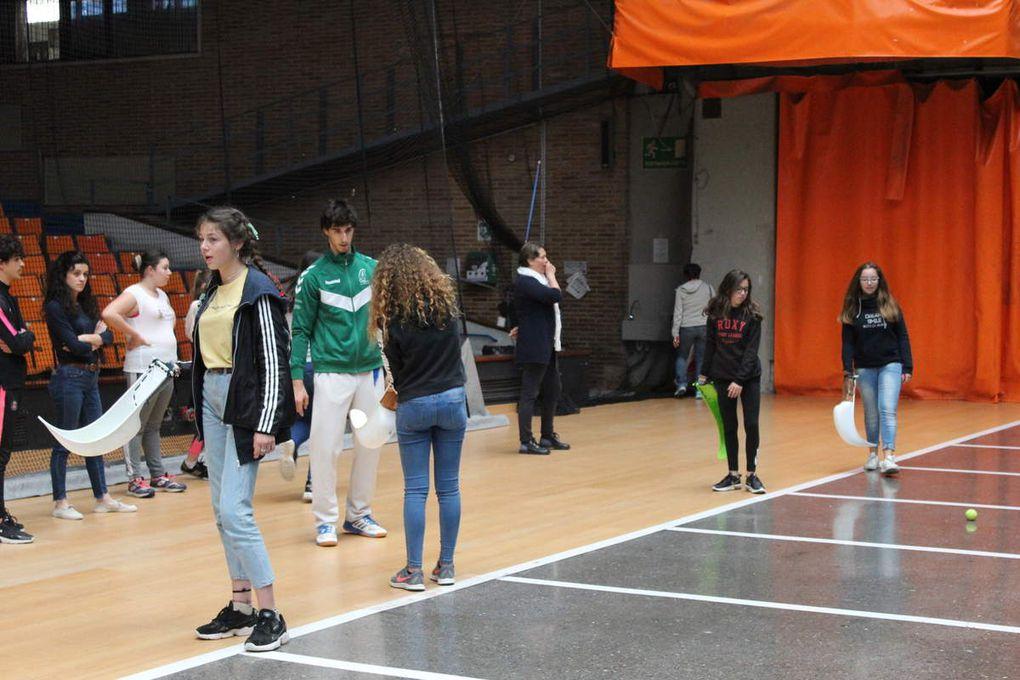 Atelier de pelote basque