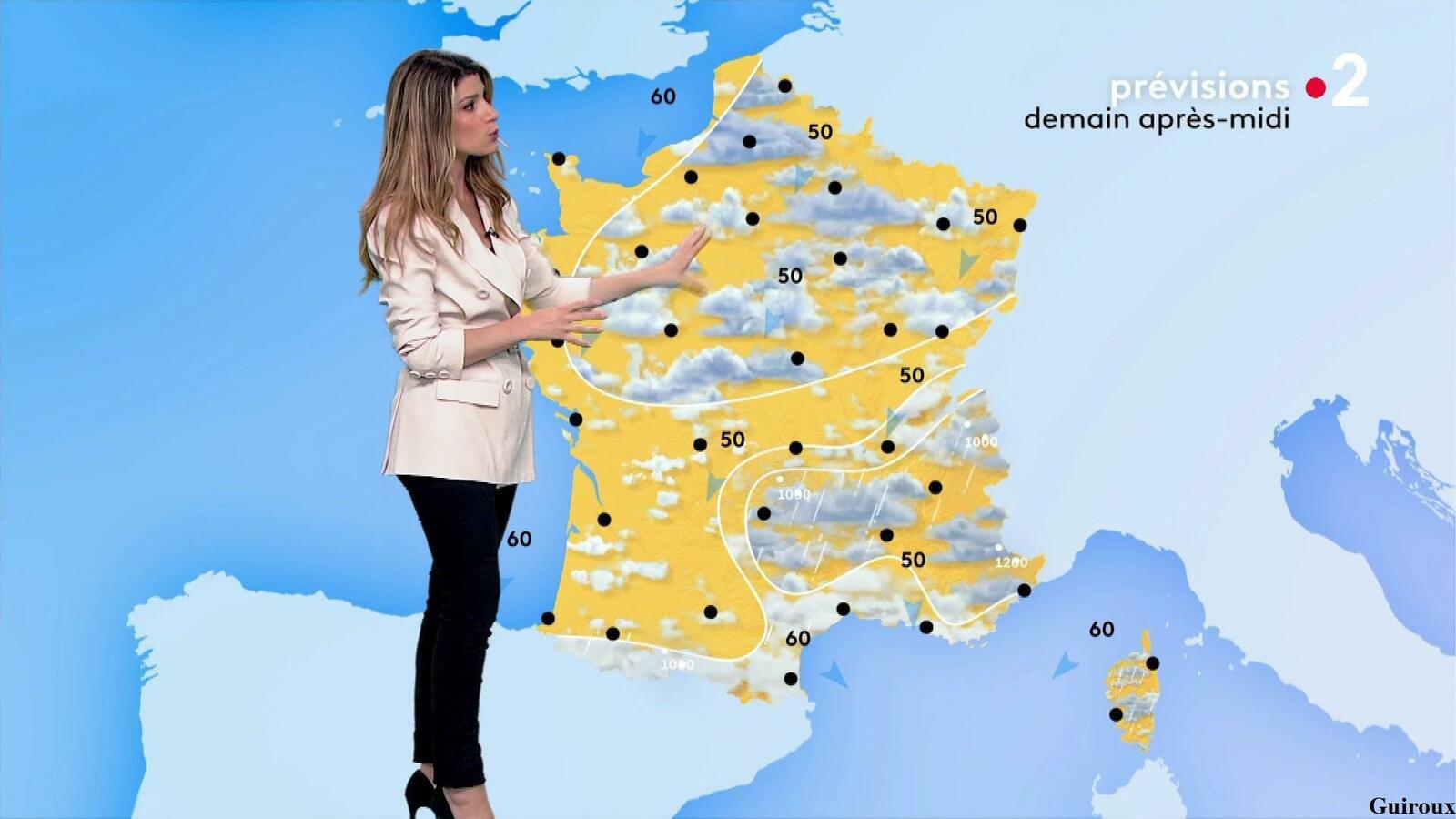 Chloé Nabédian 15/04/2021 Journaux météo du soir
