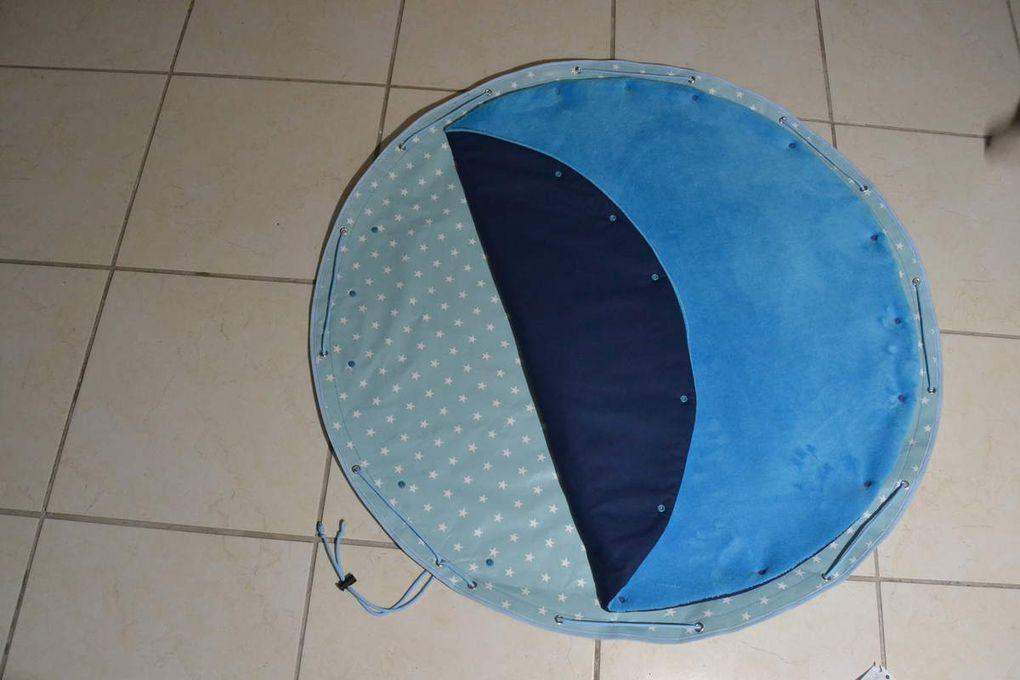 Tuto tapis nomade imperméable et lavable