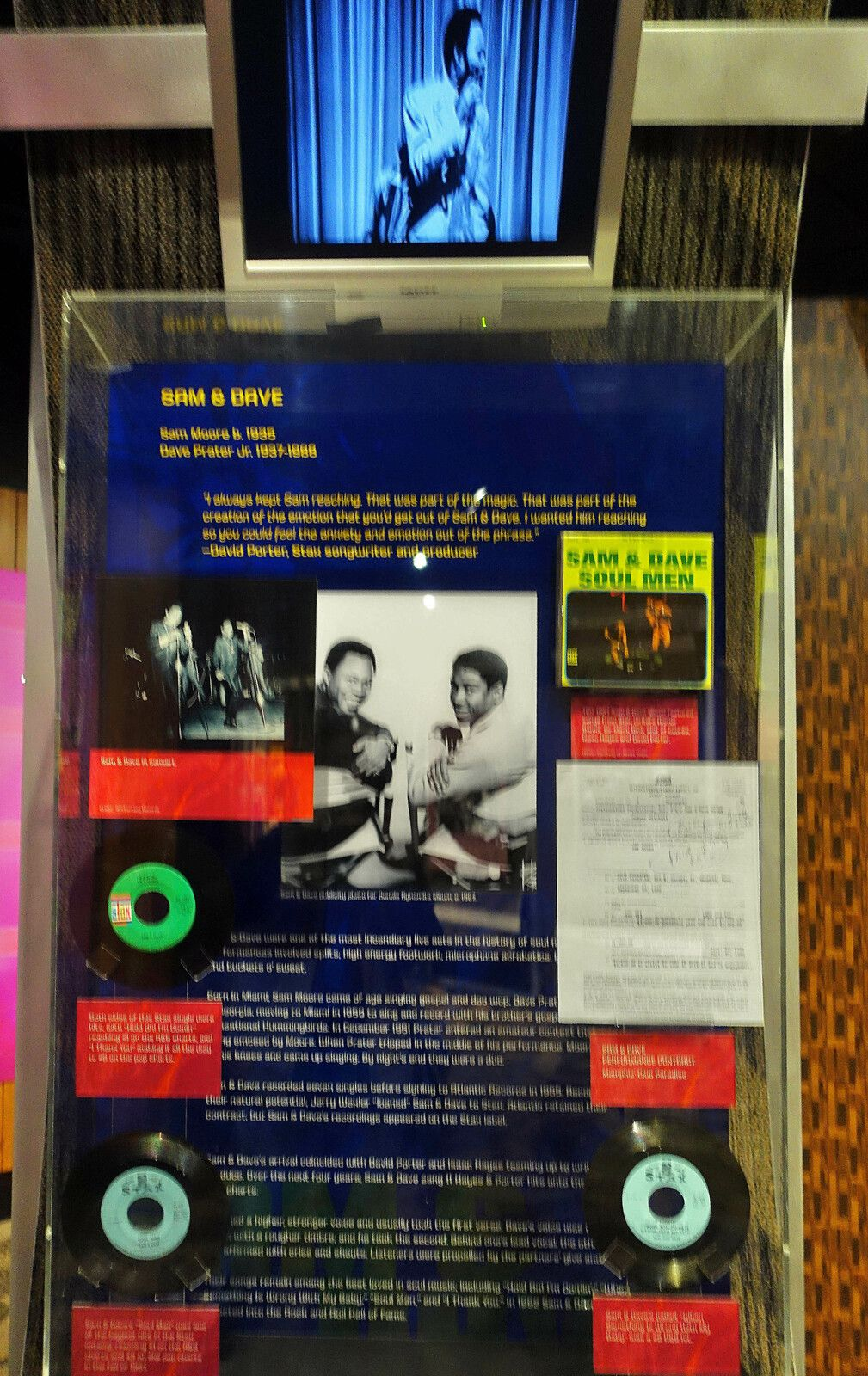 Memphis Stax Museum Sam and Dave