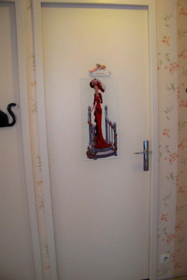 La dame à l'escalier....