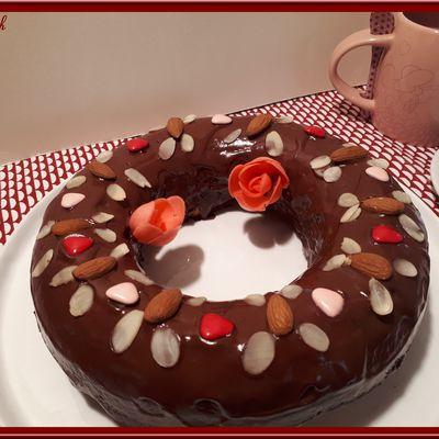 Gâteau au Yaourt Grec et Amande