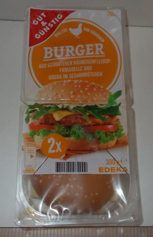 [Edeka] Gut & Günstig Burger mit Hähnchenfleisch-Frikadelle