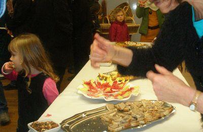 La terrine aux trois légumes du marché de Noël du 16-12-12