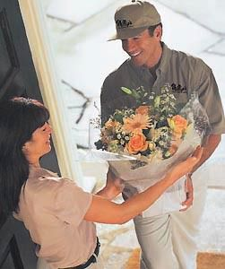 Flowers delivery is a gesture which means more than words